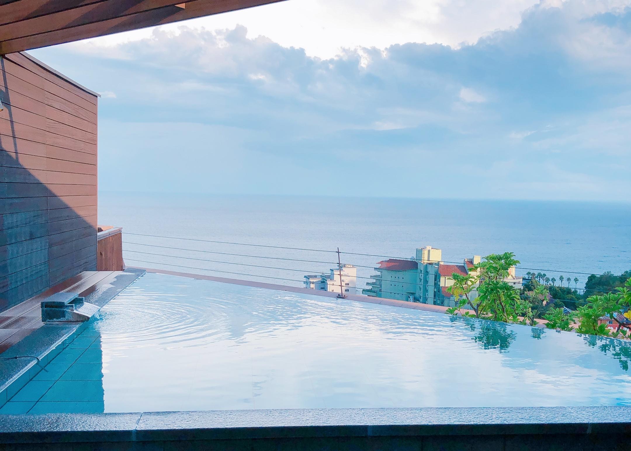 熱川プリンスホテル空中露天風呂