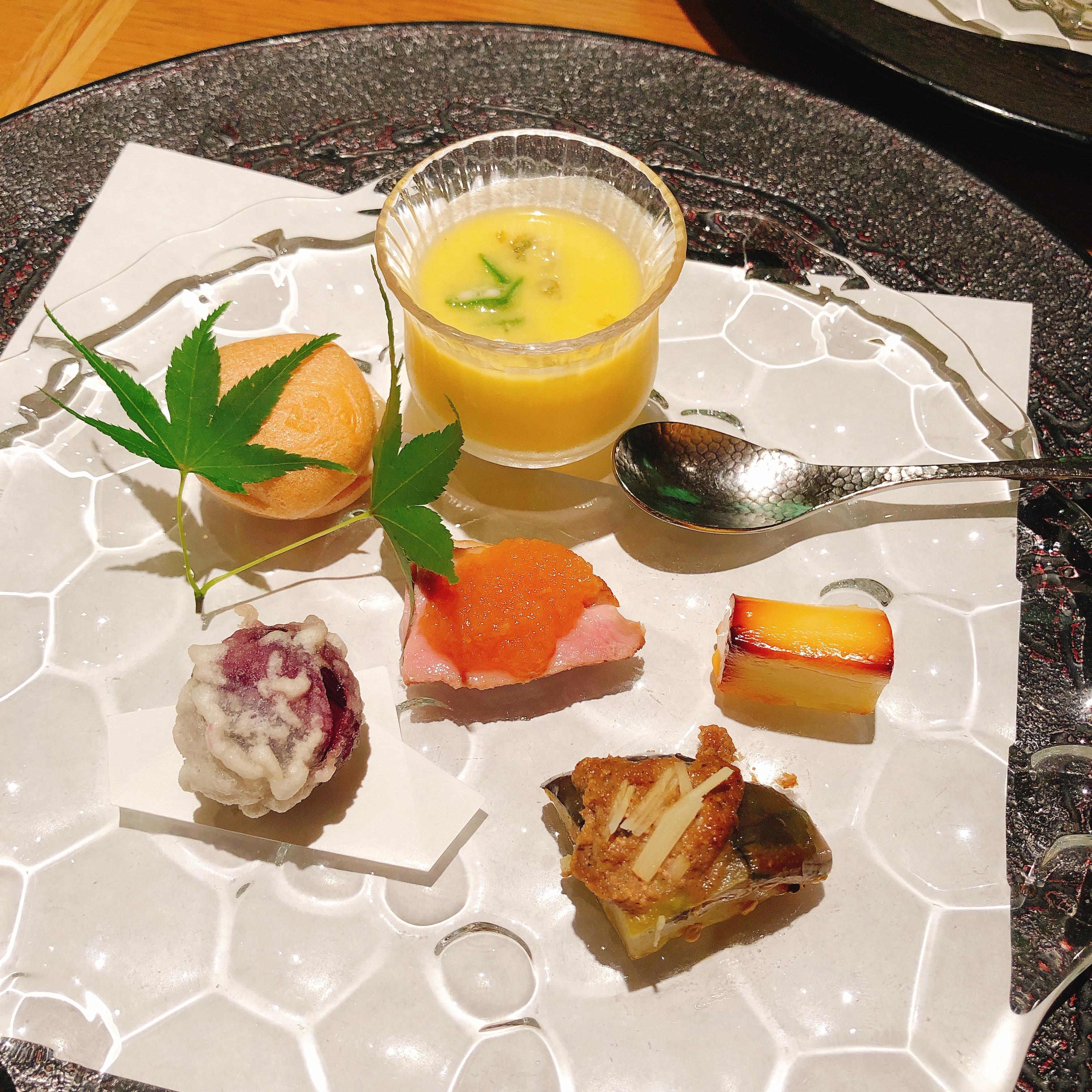 料理の鉄人!道場六三郎先生の「懐食みちば」で楽しむ会席ランチ・・・・